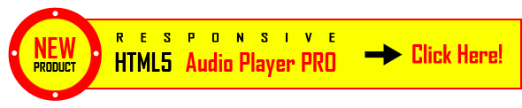 HTML5 Audio Player İşte PRO!