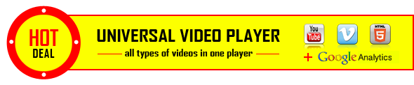 UNIVERSAL VIDEO PLAYER all types videos one player GoglcAnaMics