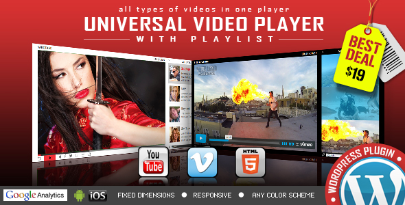 Download WP Bundle Flash Video Players – YouTube/Vimeo/MP4 nulled universal ad